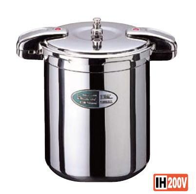 ワンダーシェフ 圧力鍋 20L【代引き不可】【Wonder chef】【IH対応】【業務用】