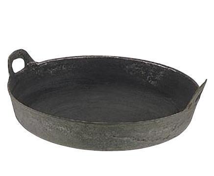 鉄鋳物揚鍋 60cm【代引き不可】【天ぷら鍋 天婦羅鍋】【揚げ鍋】【鉄鋳物製】【揚げ物】【業務用】