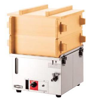 電気蒸し器M-11【代引き不可】【【業務用】【蒸し器 電気 スチーマー せいろ セイロ 蒸篭 エイシン】