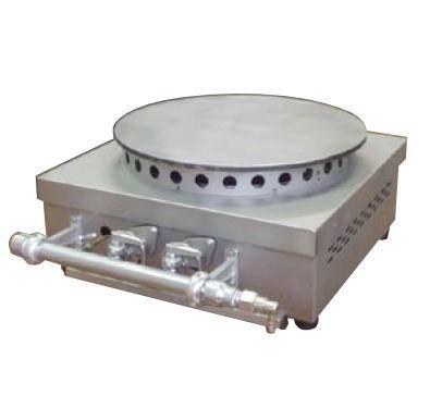 ガス式 クレープ焼器 KP-10 ((ガス種:都市ガス) 13A)【代引き不可】【業務用ガスクレープ焼機】【業務用】