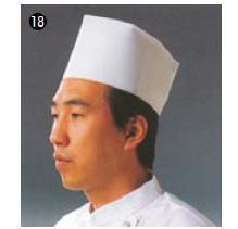 使い捨て中華帽子 D31110 (50枚入)【コック帽】【cock hat】【スカルキャップ】【Toque blanche】【業務用】