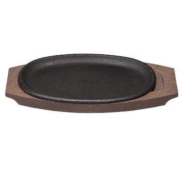 アウトレットセール 特集 厨房用品ならOPENキッチン 鉄板皿 一部予約 IH対応 電磁調理器対応 11-0577-0202 トキワ 鉄 ステーキ皿 316 小判 日本製 小 業務用 浅型 プレート 焼きそば鉄板 25cm 洋食器 ハンバーク皿