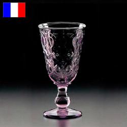 リヨネ ワイン(アメジスト) 230cc (6個入) ラ・ロシェール 631761【ラ・ロシェール】【La Rochere】【ワイングラス】【バー用品】【グラス】【ダイヤモンドカット】【コップ】【業務用】