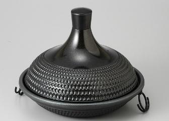 ★お求めやすく価格改定★ 蒸し鍋 (大)黒, アコースティック b81e7524