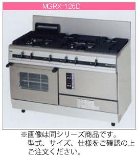 マルゼン ガス式 パワークックガスレンジ MGRX-097D【代引き不可】【ガスレンジ 業務用】【ガスコンロ】【オーブン付き】