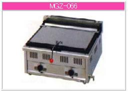 マルゼン ガス式 ガス餃子焼器 MGZ-066【代引き不可】【業務用 餃子焼き機】【餃子焼機】【ガス餃子焼器】