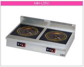 マルゼン IH式 電磁調理器《IHクリーンコンロ》 MIH-L55C【代引き不可】【業務用 電磁調理器】【IHコンロ】【IH調理機】【業務用】