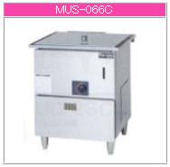 マルゼン ガス式 ガス蒸し器 MUS-066C【代引き不可】【業務用】【ガス蒸し機】【セイロタイプ】【自動給水システム】【スチーマー】