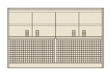 ピットイン上部架台 PN-9HMPCK【代引き不可】