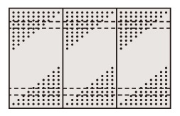 ステンレスパンチングウォールシステム PO-453LSU4【代引き不可】