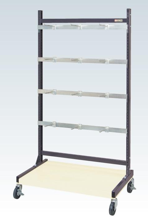 ラックシステム(フックハンガータイプ移動式) PLS-1541HDR【代引き不可】