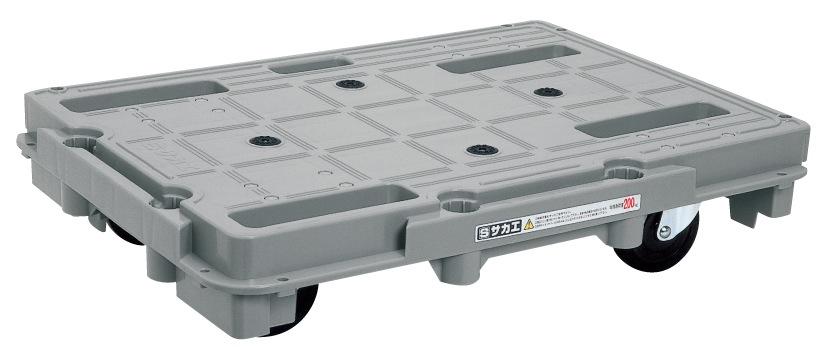 樹脂台車(スタッキング・連結仕様) SCR-800【代引き不可】