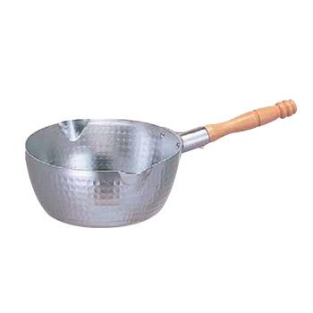 ホクア アルミ打出雪平鍋 21cm (目盛付)