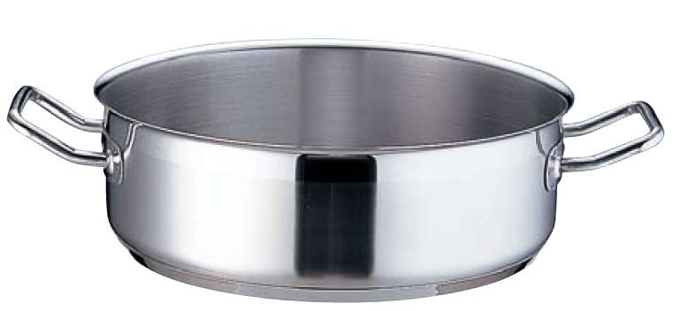 TKG PRO(プロ)外輪鍋(蓋無) 40cm【ステンレス鍋】【IH対応】【電磁調理器対応】【業務用鍋】【業務用】