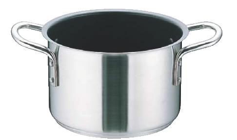 ムラノ インダクション テフロンセレクト 18-8半寸胴鍋(蓋無)36cm