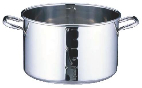 SAパワー・デンジ半寸胴鍋 目盛付 蓋無 45cm
