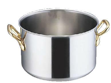 エコクリーン スーパーデンジ 半寸胴鍋 (蓋無) 21cm