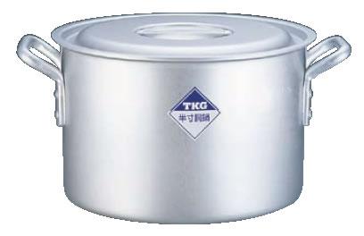 半寸胴鍋 アルミニウム(アルマイト加工) (目盛付)TKG 45cm
