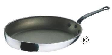 モービル シルバーストーンオーバルパン 9853.35 35×23cm 【業務用フライパン】【Mauviel】【業務用】