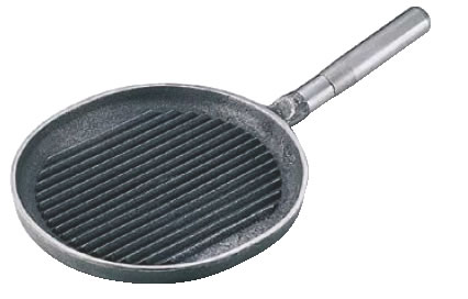 鉄柄小判ステーキパン 【鉄グリルプレート】【業務用グリルプレート】【業務用】