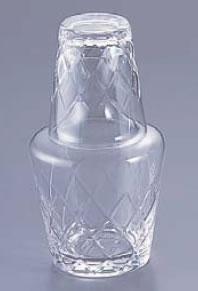 ガラス小矢来水瓶 YR-40S【水差し】【業務用】