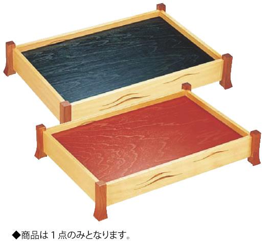京透かし 盛込器 (黒・朱両面敷板付) 大【刺身盛器】【業務用】