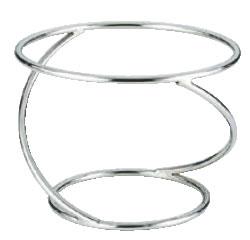 SW 陶器丸皿スタンド クロスA 3870-2231【装飾台】【バイキング ビュッフェ】【バンケットウェア】【皿】【業務用】