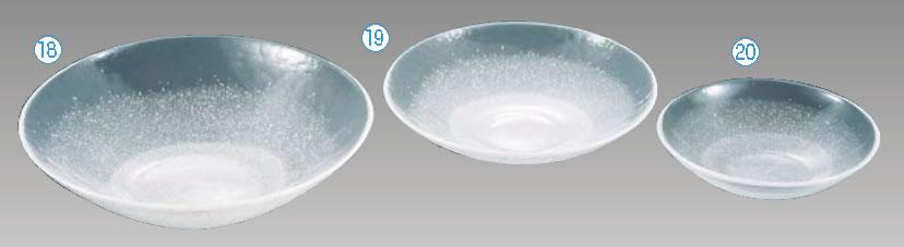 硝子和食器 白雪15 40cm 丸盛込皿【FIRST GLASS】【小皿】【取り皿】【取皿】【小分け皿】【業務用】