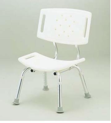 シャワーチェア背もたれ付 CFN5004【お風呂椅子】【温泉椅子】【いす】【イス】【業務用】