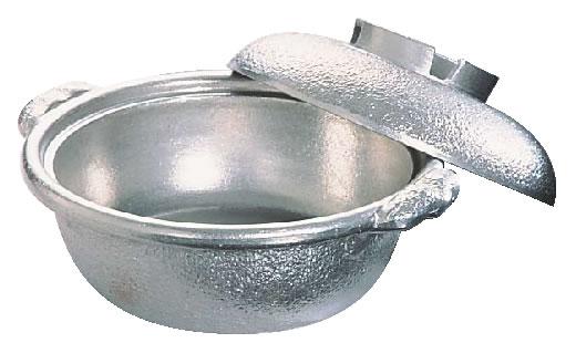 アルミ 土鍋(白仕上風) 30cm 【鍋料理】【料理演出用品】【和食卓上鍋 鍋用小物】【業務用】