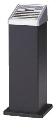 スモーキングスタンド AL-106 黒【灰皿】【外用灰皿】【スタンド灰皿】【業務用】