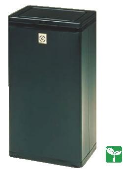 角型ロータリー屑入 RSL-21N (ブラック)【ダストボックス】【くず入れ】【屑入れ】【クズ入れ】【ゴミ箱】【業務用】
