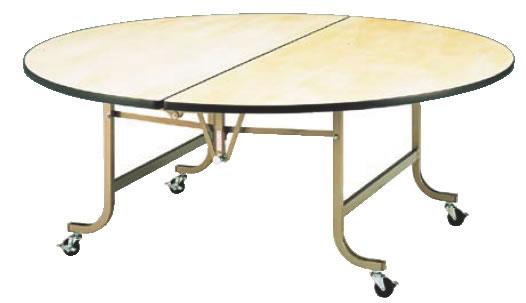 フライト 円テーブル FRS1800【代引き不可】【会議室テーブル】【食堂用テーブル】【会議テーブル】【折りたたみ式】【業務用】