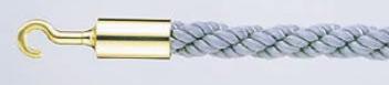 パーティションロープ Aタイプ 30B グレー【通行止め】【進入禁止】【業務用】