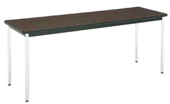 テーブル(棚無) MT2701 (A)チーク【代引き不可】【会議室テーブル】【食堂用テーブル】【会議テーブル】【業務用】