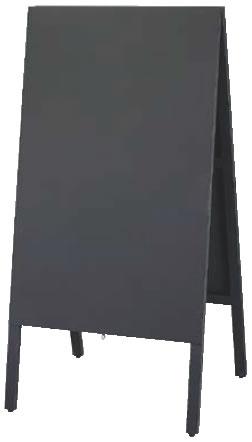 チョーク用 スタンド黒板 ビッグタイプ TBD120-1【代引き不可】【案内看板】【案内プレート】【販売板】【業務用】