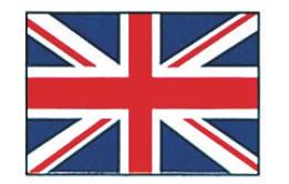 エクスラン万国旗 70×105cm イギリス【店内装飾】【業務用】