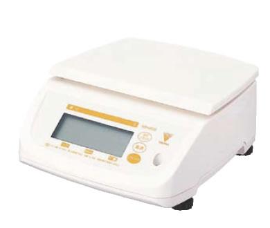 寺岡 防水型デジタル上皿はかり テンポ DS-500 10kg【計量器】【重量計】【測量器】【業務用】