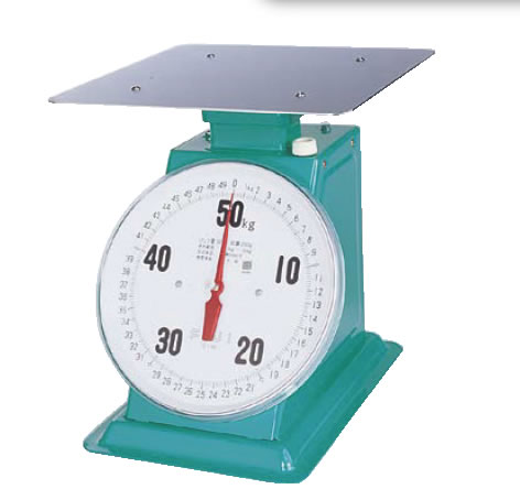 【重量計】 上皿自動ハカリ (平皿付) フジ 【計量器】 デカO型 20kg 【業務用】 【測量器】