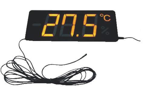 薄型温度表示器 メンブレンサーモ TP-300TB-10【代引き不可】【thermometer】【業務用】