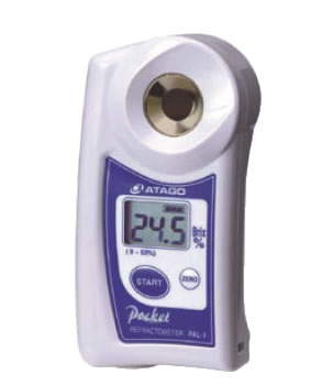 デジタル ポケット糖度計 PAL-1【計測器】【業務用】