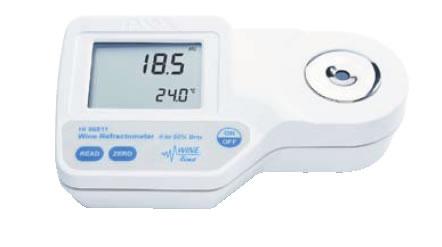 ハンナポータブル型 デジタル糖度計 HI96811【計測器】【業務用】