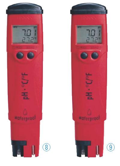 ハンナ デジタルpH/度テスター pHep4 HI98127【計測器】【業務用】