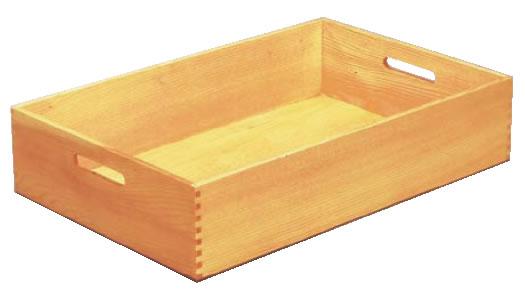 白木 料理運び盆 (ウレタン塗装)【トレイ】【お盆】【業務用】
