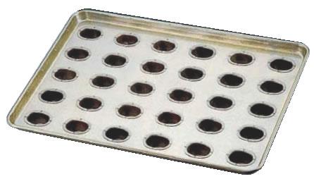シリコン加工 リージェント型天板 (30ヶ取) 【シリコン加工 タルト型】【ケーキ型 洋菓子焼型 】【製菓用品 製パン用品】【フレキシブルモルド 天板型】【業務用】