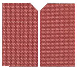 マトファ シリコン葉型(アメ細工用) E24 80534 【デコレーション器具】【製菓用品】【和菓子用品 アメ細工類】【MATFER】【業務用】