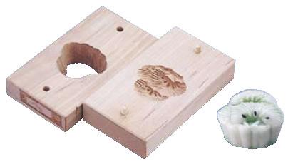 手彫物相型(上生菓子用) 三階松 【手彫り物相型】【引菓子 小物 季節物】【製菓用品】【和菓子用品 アメ細工類】【業務用】