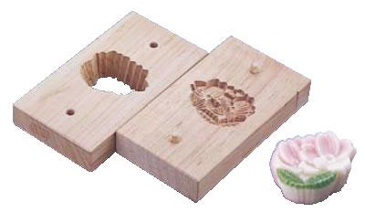 手彫物相型(上生菓子用) 手折桜 【手彫り物相型】【引菓子 小物 季節物】【製菓用品】【和菓子用品 アメ細工類】【業務用】