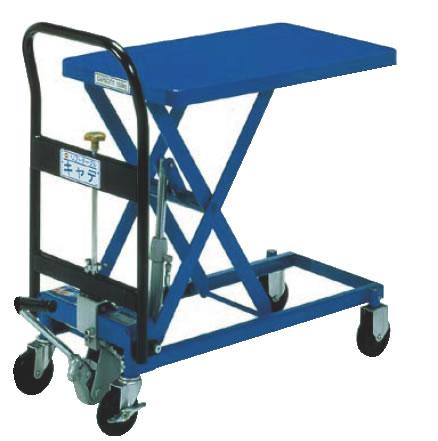 手動式リフトテーブルキャデ LT-H150-7 【代引き不可】【運搬カート 運搬台車】【業務用】