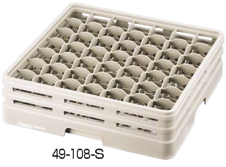 レーバン ステムウェアラック フルサイズ 49-202-S 【グラスラック ステムウェアラック】【洗浄用ラック】【Raburn】【食器洗浄機用ラック】【業務用】